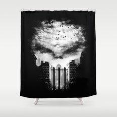 War Zone Shower Curtain
