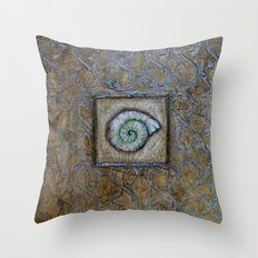Vintage Impressions * Shell Throw Pillow
