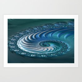 Cultured Intuition 6 Art Print