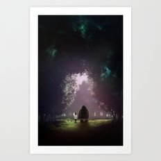 Feel Lonesome Art Print