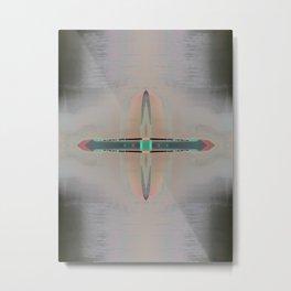 Native Compass Metal Print