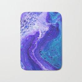 Purple Wave of Seafoam Bath Mat