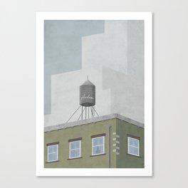 Frames of New York #02 Canvas Print