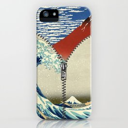 Mt. Fuji and the Wave iPhone Case