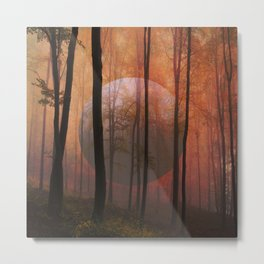 Not From Here, Surreal Forest Metal Print
