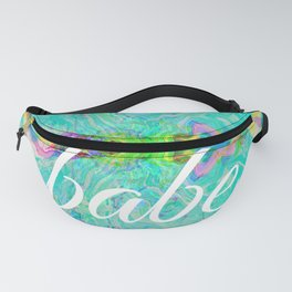 babe (water glitch 09-32-67) Fanny Pack