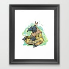 Peace And Luck Framed Art Print