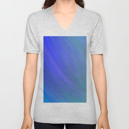Fifty Shades of Blue Unisex V-Neck