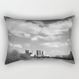 Columbus Ohio 2 - B&W Rectangular Pillow