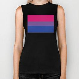 Bisexual Flag Biker Tank