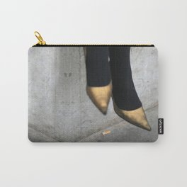 the girl in the gold shoes Carry-All Pouch