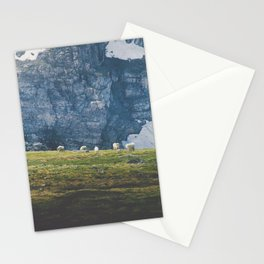 Beartooth Mountain Goats Stationery Cards