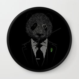 Sir Panda Wall Clock