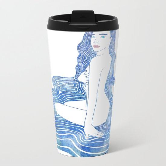 Water Nymph CII Metal Travel Mug