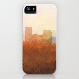 Lexington, Kentucky Skyline iPhone Case
