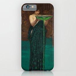 John William Waterhouse Circe Invidiosa iPhone Case