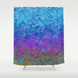 Fluid Colors G255 Shower Curtain