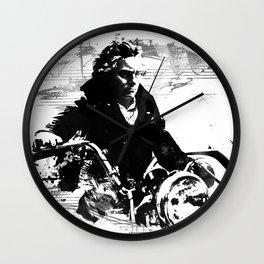 Beethoven Motorcycle Wall Clock