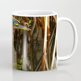 Beautiful Green Heron Coffee Mug