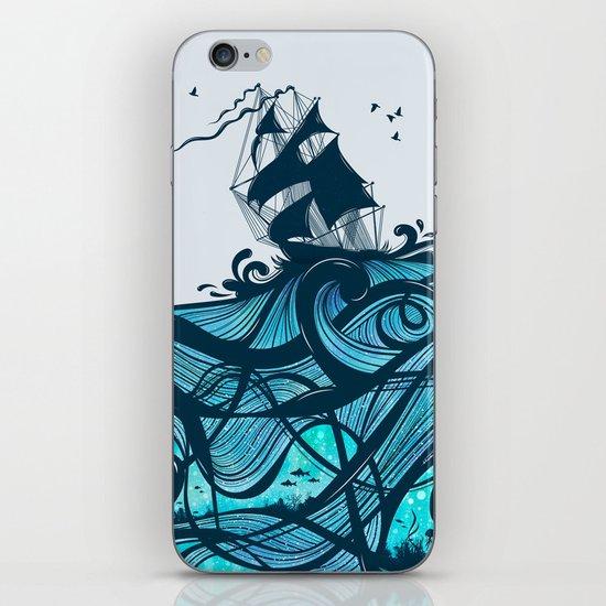 Upon The Sea iPhone Skin