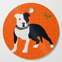 Staffordshire Bull Terrier Dog Cutting Board