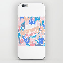 National Women's Month iPhone Skin