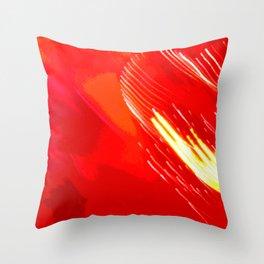 Valentine Heartquake Throw Pillow
