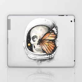 A Strange Existence of an Ending (A Space for a Beginning) Laptop & iPad Skin