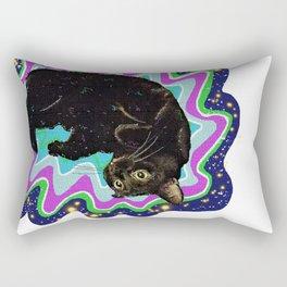 Cat-Nipped Rectangular Pillow