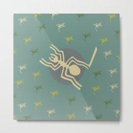 Nazca Lines - Spider - Peru Metal Print