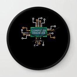 Computer Engineer Wall Clock