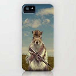 Fighter Squirrel  iPhone Case