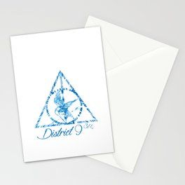 District 9 3/4 Stationery Cards