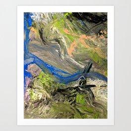 A Highway for God Art Print