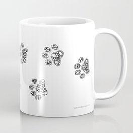 Cat tracks Coffee Mug