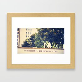 Summertime.. Framed Art Print