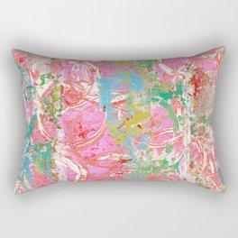 Pink Bubble Gum Rectangular Pillow