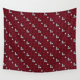 MAD AB-TAANIKO P1 S-Red Wall Tapestry