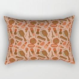 Kiss and Makeup Rectangular Pillow