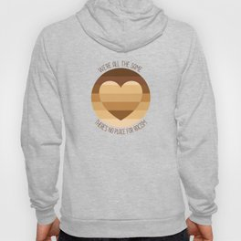 No place for racism Hoody
