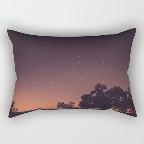 Sunset stars Rectangular Pillow