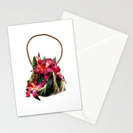 Orchid Handbag One Stationery Cards