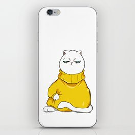 itchy sweater iPhone Skin