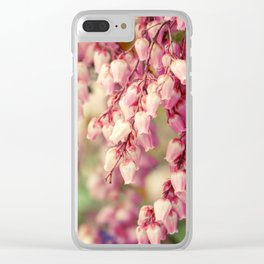 Japanese Sweets Clear iPhone Case