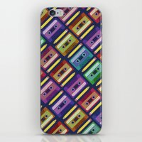 90s iPhone & iPod Skins featuring 90s pattern by Gabor Nemethi