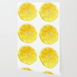 Lemon Slices Graphic Design Wallpaper
