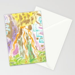 Abstract 8a Stationery Cards