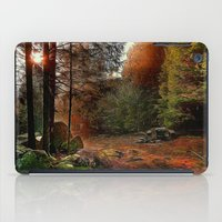 cabin iPad Cases featuring Hidden Cabin by Robin Curtiss