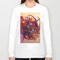 sci fi Long Sleeve T-shirts featuring Sci-fi insect by Gaspar Avila