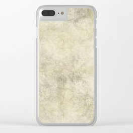 Antique Marble Clear iPhone Case